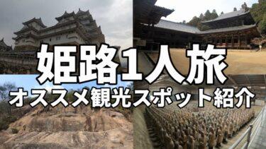 姫路観光1人旅でも楽しめる最強オススメ観光スポットを紹介